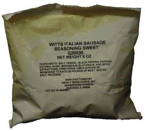 Witts Sweet Italian Sausage Seasoning