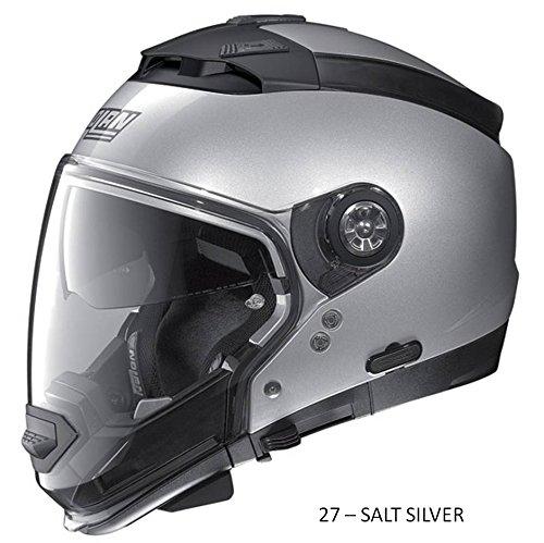 Nolan N44 N-Com Special Motorradhelm M SALT SILVER - CODICE COLORE 27