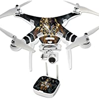 Skin For DJI Phantom 3 Professional – Wolf Dreams | MightySkins Protective, Durable, and Unique Vinyl Decal wrap cover | Easy To Apply, Remove, and Change Styles | Made in the USA
