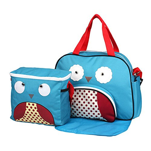 Amazon.com : Hot Animal Style Maternity Big Nappy Bags+Picnic Bag Mummy Baby Milk Bottle Shoulder Bag Bolsas Mom Bebek Cantasi Free Shipping : Baby