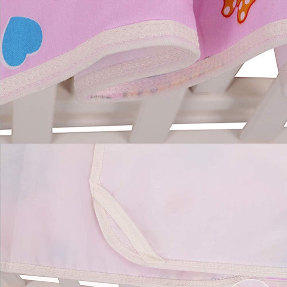 Tapis durine de b/éb/é,Mat r/éutilisable infantile couche durine tapis imperm/éable feuille literie matelas /à langer jouer poussette berceau voiture matelas lavable tapis housse S