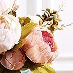 Pack-of-2-Artificial-Flowers-Vintage-Fake-Silk-Peony-Flowers-Wedding-Bush-Bouquet-Arrangement-for-Home-Decor-Party-Floral-Wreath-Centerpieces-Decoration-and-DIY-Light-Pink