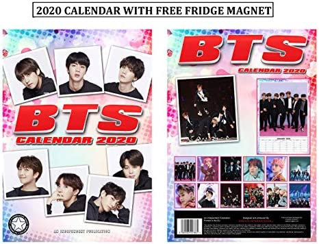 BTS Bangtan Boys Calendario 2020 + BTS imán para nevera: Amazon.es ...
