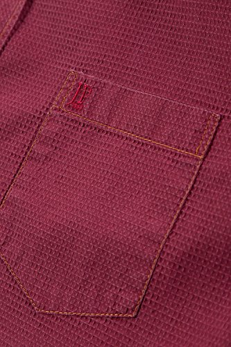 JP 1880 Homme Grandes tailles Chemise manches courtes rouge 3XL 705569 51-3XL