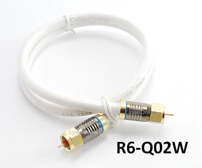 Review 2ft. White Premium RG6
