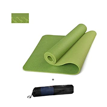 Esterilla Yoga Antideslizante, Colchoneta de Alta Densidad y ...