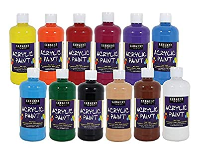 Sargent Art 24-2498 Count Artist Quality Acrylic Paint