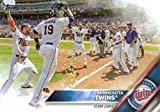 Minnesota Twins 2016 Topps MLB Baseball Regular Issue Complete Mint 21 Card Team Set with Joe Mauer, Miguel Sano, Bryan Buxton Plus