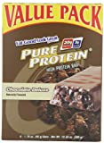 Pure Protein Chocolate Deluxe High Protein Bar, 6 Count (24 bars) from Pure Protein