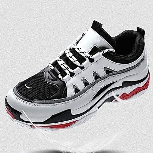 スポーツカジュアルランニングシューズウォーキングジョギング整形外科シューズアウトドア通気性 (Color : White, Size : 44EU)