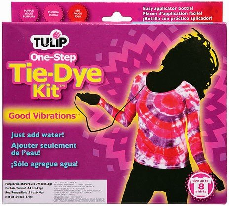 Duncan Crafts Tulip One Step Tie Dye Kit Good Vibrations -