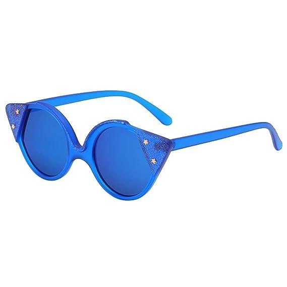 VECDY Gafas De Sol Moda Hombre Mujer Forma Irregular Gafas ...