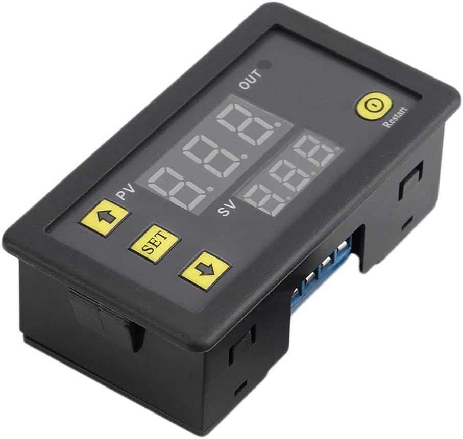 DEjasnyfall schwarz W3230 Professionelle LCD-Display-12V Digital Thermostat-Temperatur-Alarm Controller Sensor Temperaturmessger/ät Regler