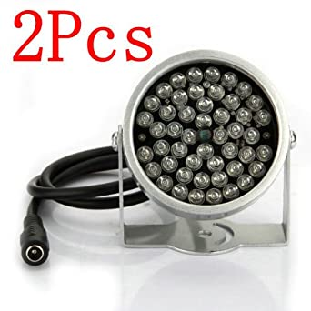 CCTV-Beleuchtung Licht Überwachungskamera IR Infrarot CLght Vision Lampe 48  2