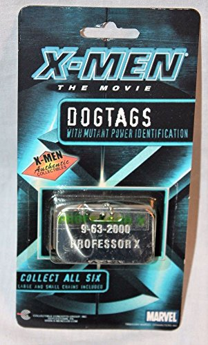 Marvel X-Men The Movie Professor X Dogtags -