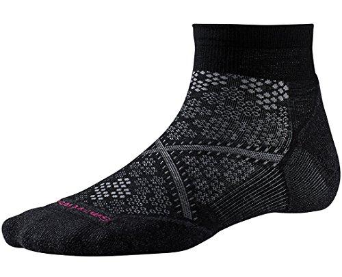 Smartwool Women's PhD Run Light Elite Low Cut Socks (Black) Large (Smartwool Run Socks)
