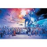 Trends International Star Wars Galaxy Wall Poster 22.375