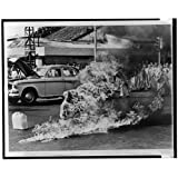 Photo: Buddhist monk,Thich Quang Duc,burning to death,protest