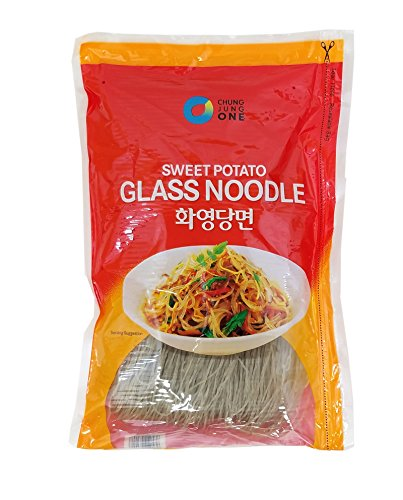 ChungJungOne Glass Noodles, Korean Vermicelli, Dangmyun, Sweet Potato Starch (35.2 Ounces, -