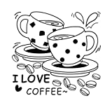 coffee bar wall decal - Taloyer 1pcs Removable Wall Stickers DIY Decal Vinyl Mural Home Coffee Bar Kitchen Decor