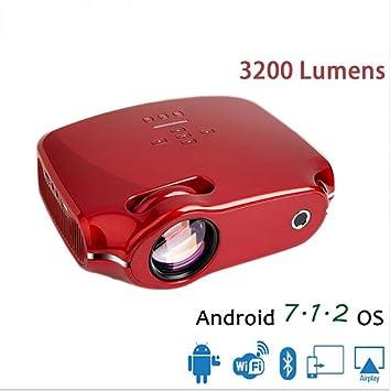 Amazon.com: PYXZQW Mais Novo LEVOU Projetor para Full HD 4 ...