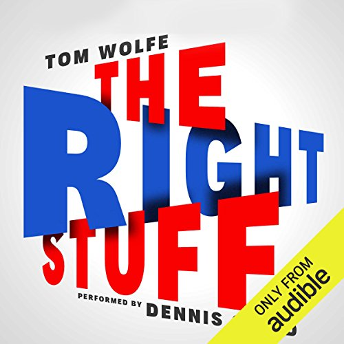 The Right Stuff Audiobook by Tom Wolfe [Free Download by Trial] thumbnail