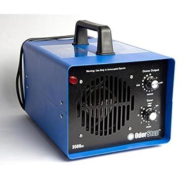 OdorStop OS3500UV Professional Grade Ozone Generator 3 Ozone Plates With UV
