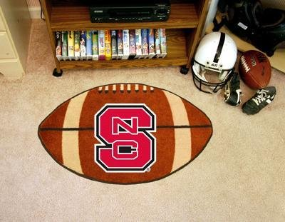 Fan Mats North Carolina State Football Rug, 22