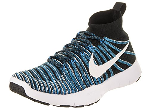 White Blue Black Sneakers Train Flyknit Force Nike Free Glow Men's Y8nqx04Fp