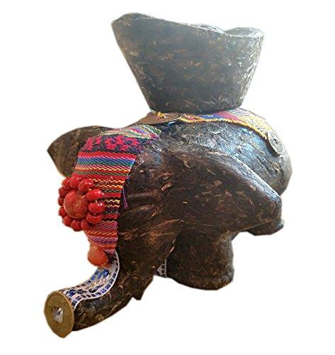 yyqs-tea-crafts-and-collection-kids-elephant-made-of-pu-erh-tea