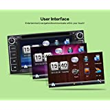 2 DIN 6.2 '' TOYOTA 4 RUNNER Car Dvd Player Navigation GPS Touch Screen Control Support Dvd Cd Bluetooth GPS with Camera