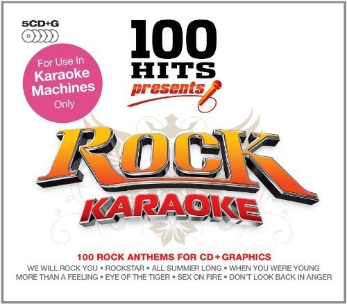 100 Hits Presents: Karaoke Rock by 101 DISTRIBUTION (2009-10-16)
