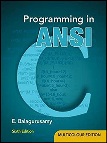 programing in ansi c fifth edition