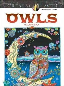 Amazon.com: Creative Haven Owls Coloring Book (Adult Coloring ...
