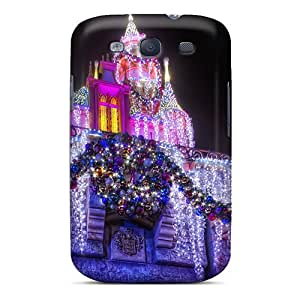 Durable Protector Case Cover With Disney Castle Hot Design For Galaxy S3