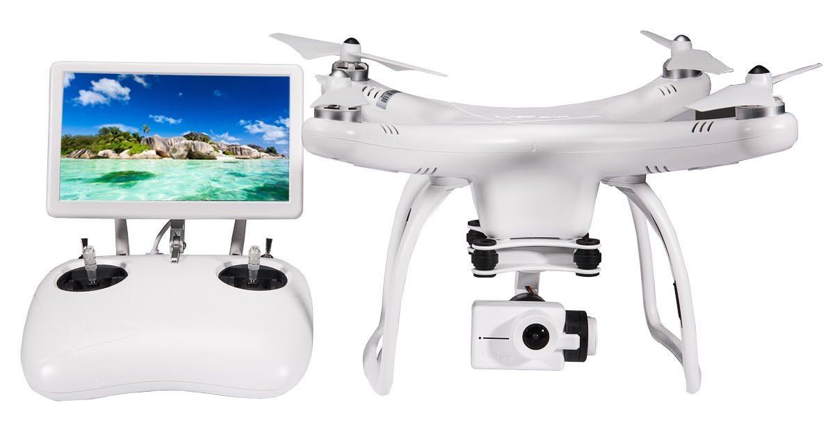 UPair One Quadcopter Drone with 4K HD Video Camera, HD camera and GPS live view