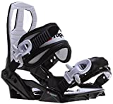 Sapient Zeus Jr Snowboard Bindings Black Sz S (4-7)