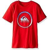 Quiksilver Big Boys' Active Logo Tee Shirt, Quick Red, X-Large