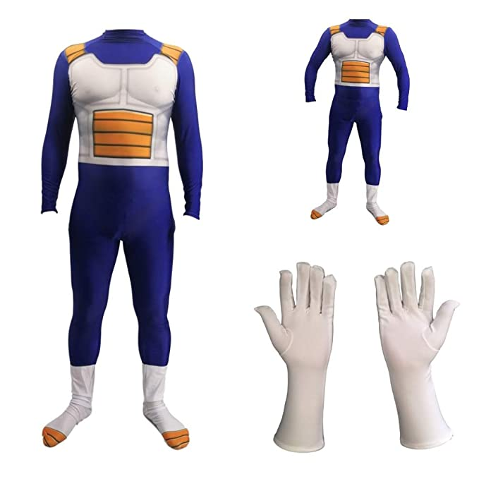 SPIDER NI Dragon Ball Z Super Saiyan Vegeta Cuerpo Completo ...