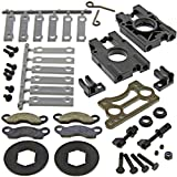 #7: Kyosho 1/8 Inferno MP9 TKI4 DISC BRAKES & CENTER DIFFERENTIAL PLATE, MOUNT PAD