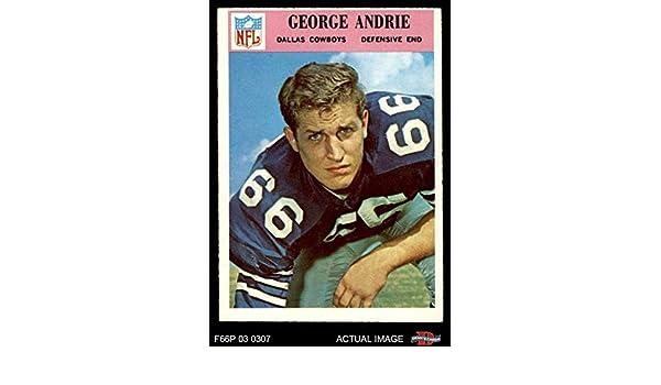 Amazon.com  1966 Philadelphia   54 George Andrie Dallas Cowboys (Football  Card) Dean s Cards 4 - VG EX Cowboys  Collectibles   Fine Art 37f14e56a