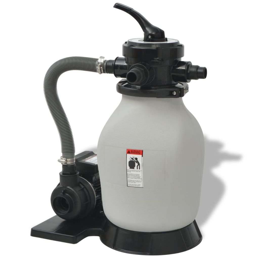 Sand Filter with Pool Pump 0.35 HP 2694 GPH Sand Filter Power supply: 115 V, 60 Hz