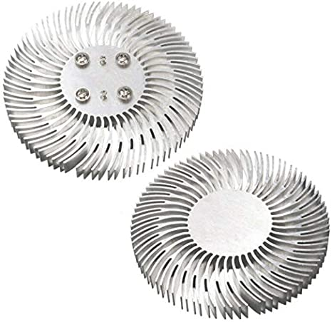 Amazon.com: Davitu Lamp Radiators - 1pc Round Spiral Aluminum Heatsink Cooler Led Heat Sink Radiator 9010mm for 10W High Power LED Light Lamp: Home Improvement
