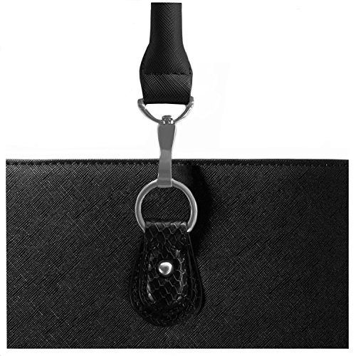 BfB Replacement Handles For Your Jennifer Business Tote – Refresh Your Womens Laptop Work Bag And Make It Look Brand New With New Purse Straps - BLACK by My Best Friend is a Bag (Image #3)
