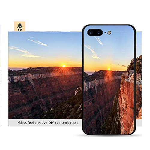 iPhone 7p / 8p Ultra-Thin Phone case Sunset View from Bright Angel Point Resistance to Falling, Non-Slip, Soft, Convenient Protective case