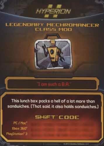 Amazon.com: Borderlands 2 Legendary Mechromancer Class Mod