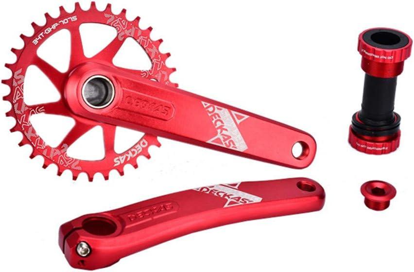 LIUXING-BKC Bicicleta angosto Ancho Plato, 32T 34T 36T 38T de una ...