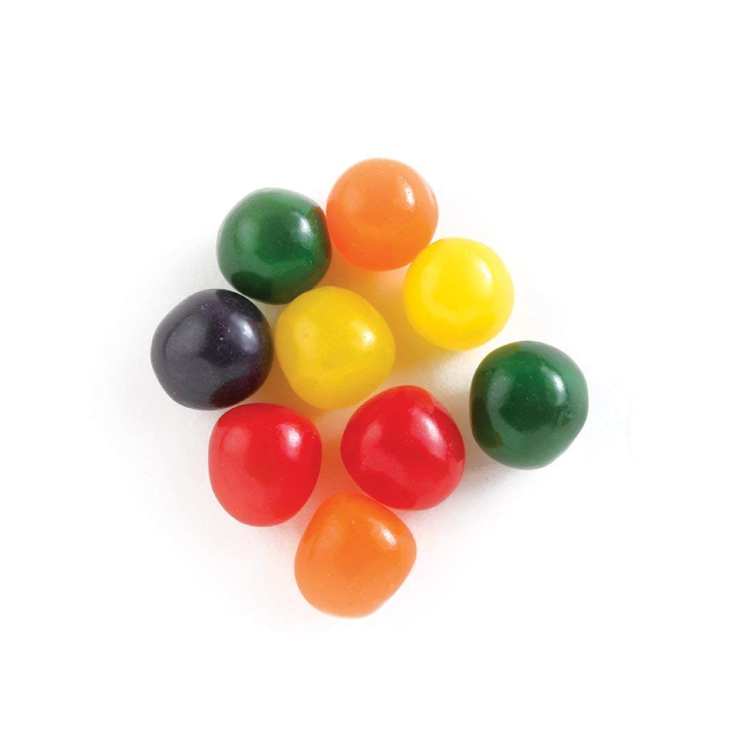 Assorted Chewy Fruit Sour Balls - 5lb Bag by Candy Crate