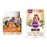 Halo Bundle Liv-A-Littles Treat Plus 4LB Senior Gr...