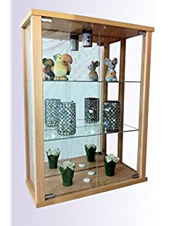 trendy glasvitrine spiegel beleuchtung hngevitrine buche with livarno vitrine. Black Bedroom Furniture Sets. Home Design Ideas